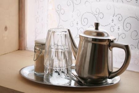 The Green Room · Cozy double/twin - Seyðisfjörður - Bed & Breakfast
