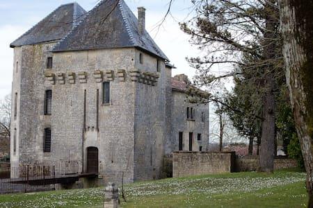 Château de Gourville/chambre tigre - Slott