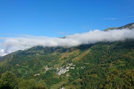 Gîte en montagne, vue panoramique. - Dům