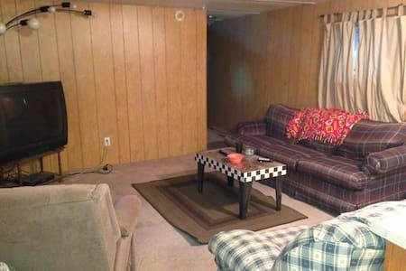 Paola/Osawatomie Mobile Home BR2 full futon - Paola - Hus