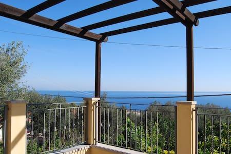 Casa con splendida vista sul golfo - Haus