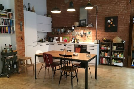 Loft with garden in the heart of Kreuzberg - Berlin - Apartment