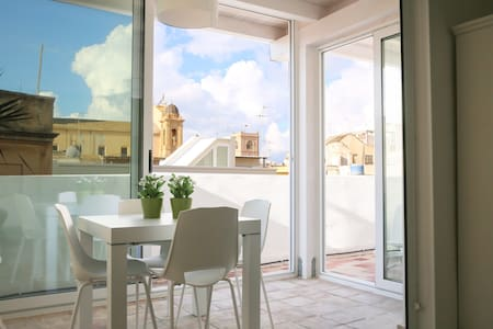 Panoramic Loft & Dome View Terrace - Marsala - Apartamento