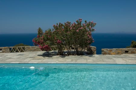 Villa with an amazing view - Koundouros