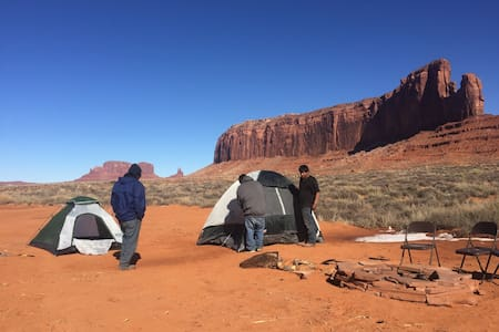 Tent Site Camping (incl. 1 tent, 2 cots) - Oljato-Monument Valley - Tente