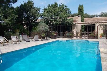 Maison avec grande piscine en Provence - Rumah