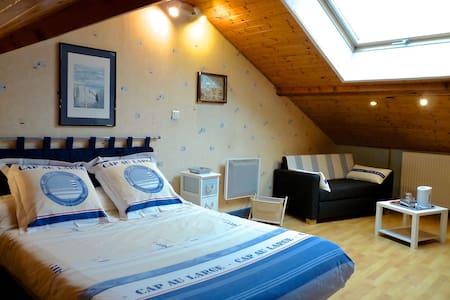 Les Aubrétias, chambre d'hôtes - Fénay - Bed & Breakfast