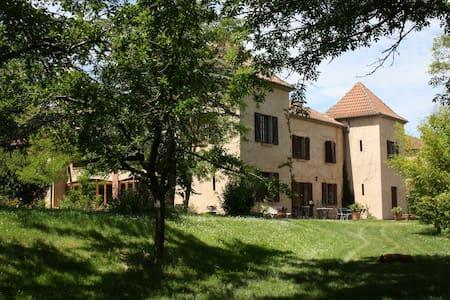 Chambre double avec terrasse - Montégut