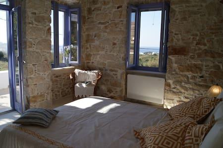 Seaside/rural stone villa - House