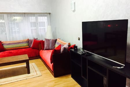 Luxurious & Spacious Fully Equipped Apt. in Agdal - Daire