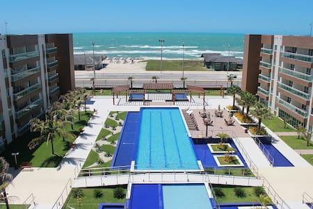 Ap Frente Mar Praia do Futuro Wi-Fi Lazer Completo - Fortaleza