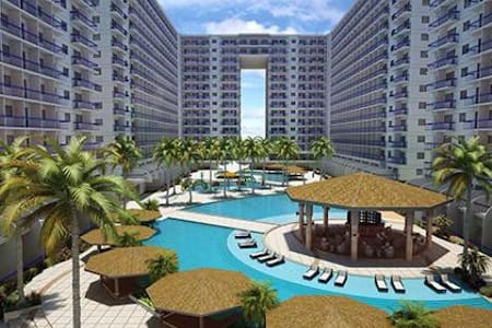 Serviced Condo near MOA,SMX,Casino,Airport,Baywalk - Pasay - Condominium