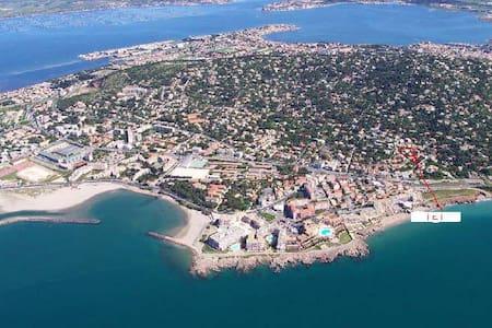La Note Bleue duplex de 53m2  à 2 pas des plages - Sète - Loft
