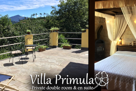 Villa Primula - Private double room & en suite - Hus