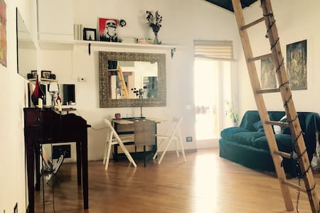 Cosy attic in the centre of Rome - Roma - Apartment
