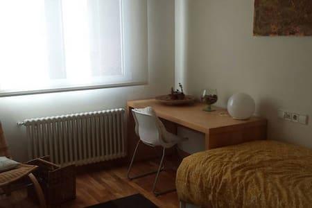 Habitación individual con dos camas en chalet - Chalet
