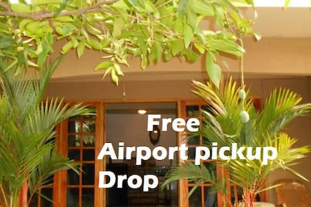 House of Esanya/With free Airport shuttle service - Inap sarapan