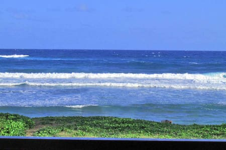 Unobstructed Direct Oceanfront - Kapaa - Condominium
