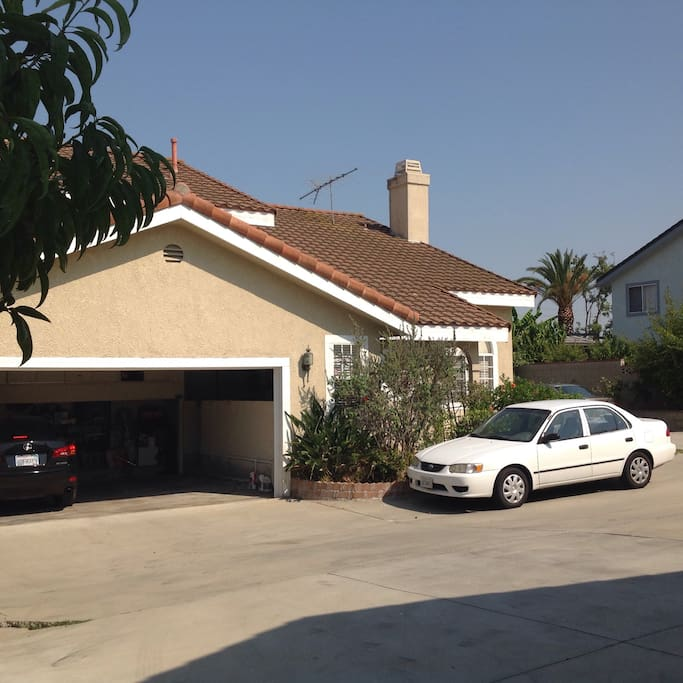 Own private parking on driveway or garage ( safe & free )