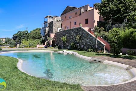 Villa Athena - Panoramic bio-pool - Termini - Wohnung