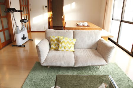 3.Beppu Sta. 3min walk w/m WiFi - House
