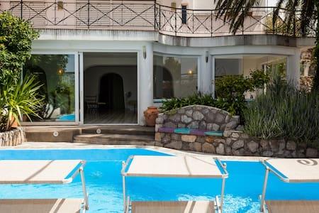 Villa Adel with private pool and sea view - Torca - Villa