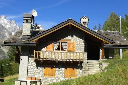 Chalet Elisée Courmayeur Mont Blanc - Hytte (i sveitsisk stil)