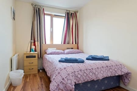 Friendly double bedroom apt with private bathroom - Appartement
