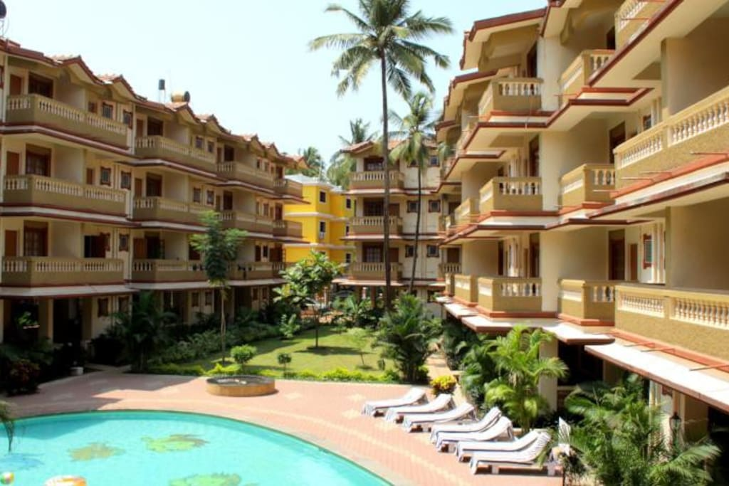 Elegance by inspire serviced apartments goa apartments for Inspire apartments