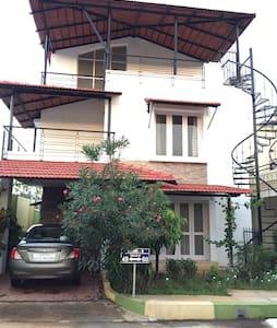 Charming Villa retreat 3BR + 3bath - Bangalore
