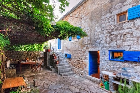 450 year-old house with a garden - Stari Grad - House
