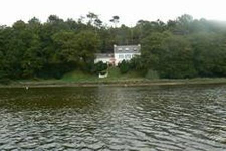 Maison de pêcheur au bord de la ria du Bélon - Riec-sur-Bélon - Talo