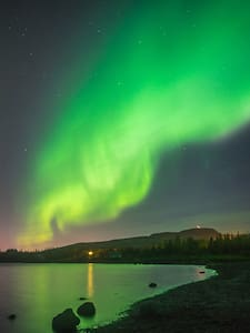 Close to aurora borealis and tourist destinations - Byt