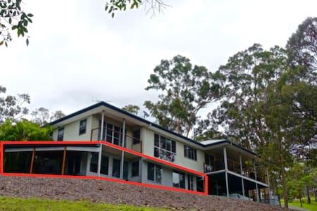 Quiet retreat between Gold Coast and Brisbane - Ormeau Hills