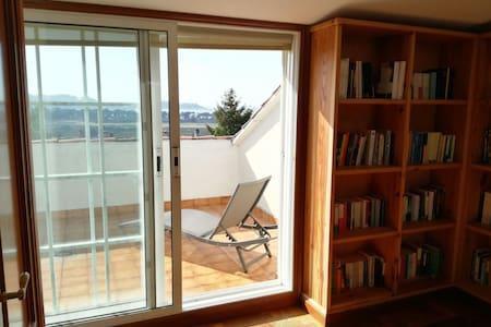 Baiona. Habitación con terraza - Haus