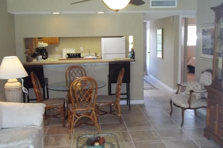 Ground floor condo, with WIFI & W/D - Crescent Beach
