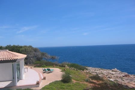 Casa Mar Blau - Villa mit Meerblick - Cala Pi - Casa