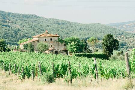 Fattoria Lavacchio: family suite on Chianti hills - Pontassieve