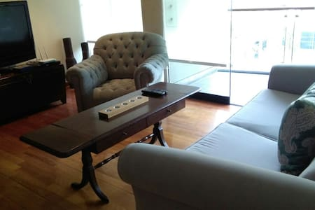 Super nice flat with balcony and common areas - Daire
