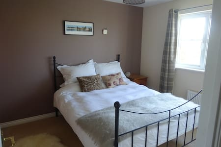En suite double room in lovely seaside town Dunbar - Hus