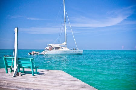 Sail Belize on Aubisque, a 47 ft Lagoon Catamaran - Belize City