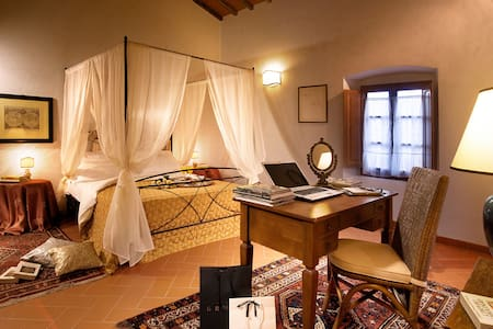 Apt with view, A/C, WiFi, vineyards - Rignano sull'Arno - Appartement