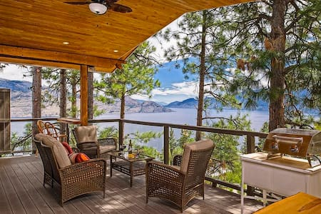 Peachland Eagles Nest B&B, The Tree House Suite - Bed & Breakfast