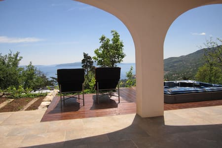 Sea view apartment at Villa Oscar - Veprinac - Huoneisto