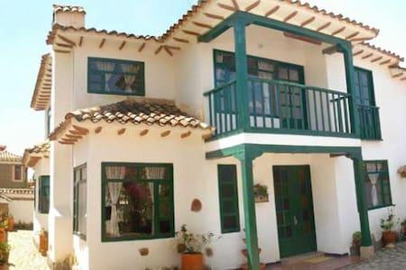 CASONA COLONIAL EL REFUGIO DE LOS VIRREYES - Villa de Leyva - Dům
