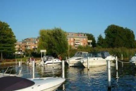 Living@Dahme-Yachtzentrum Berlin-Komfort am Wasser - Lejlighed