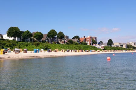Strandperle Kiel-Schilksee, 100 Meter zum Strand - Kiel - Apartment