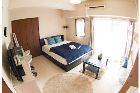SHINSAIBASHI, DOTONBORI Private new - Appartement