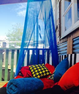 Central City Homestay - Patio Bed - Whanganui - Bed & Breakfast