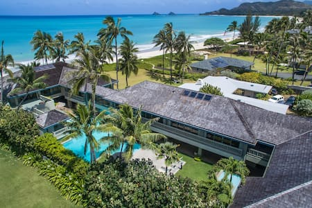 Oceanfront luxury private boutique villa with pool - カイルア